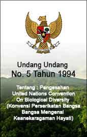 UU No 5 1994 - UNCBD